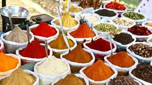Living somewhere with spice markets
