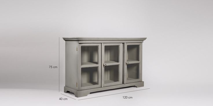 Sideboard, modern country style in French Grey - £599