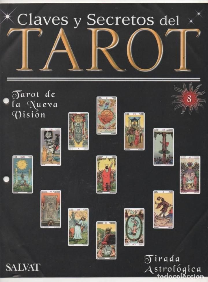 CLAVES Y SECRETOS DEL TAROT Nº 8 (COLECCIÓN DE TAROTS) SALVAT- 2003 (16 PP.)