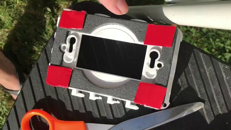 RV Headlight Repair & Installed Outside Electrical Box - Full Time RV Li...