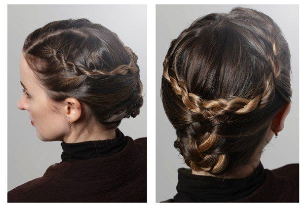 Photos: Sansas's Mini French Braids : Game Of Thrones Hair: How To Do The Show's Best Braids At Home : Lucky Magazine