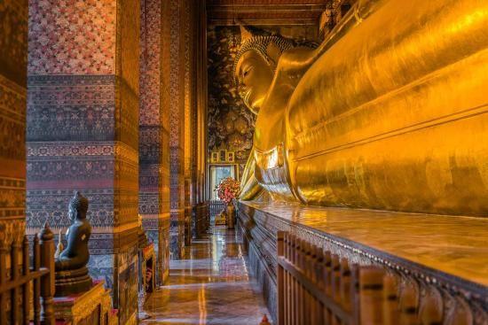Templo do Buda Reclinado (Wat Pho), Bangcoc - Tailândia