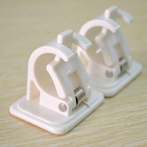 Self Adhesive Hooks Rod Bracket 2pcs In 2020 With Images