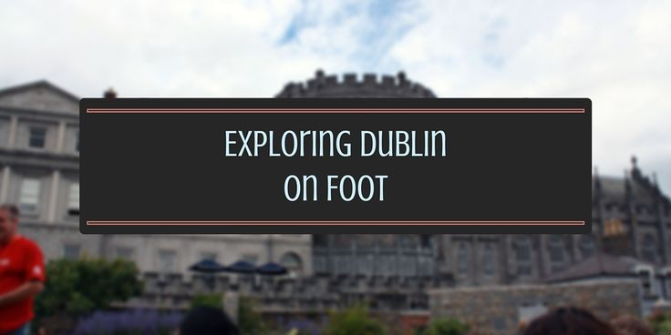 The first thing I did when I arrived in the city was find the nearest Dublin walking tour. This was offered by New Dublin Tours, a company that provides free tours on a daily basis.