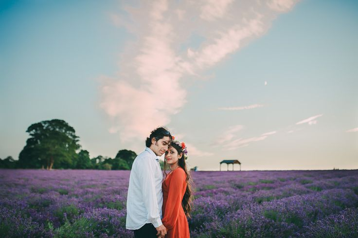 Pre Wedding Shoot At Mayfield Lavender | Engagement Shoot At Mayfield Lavender | Remain In Light Photography