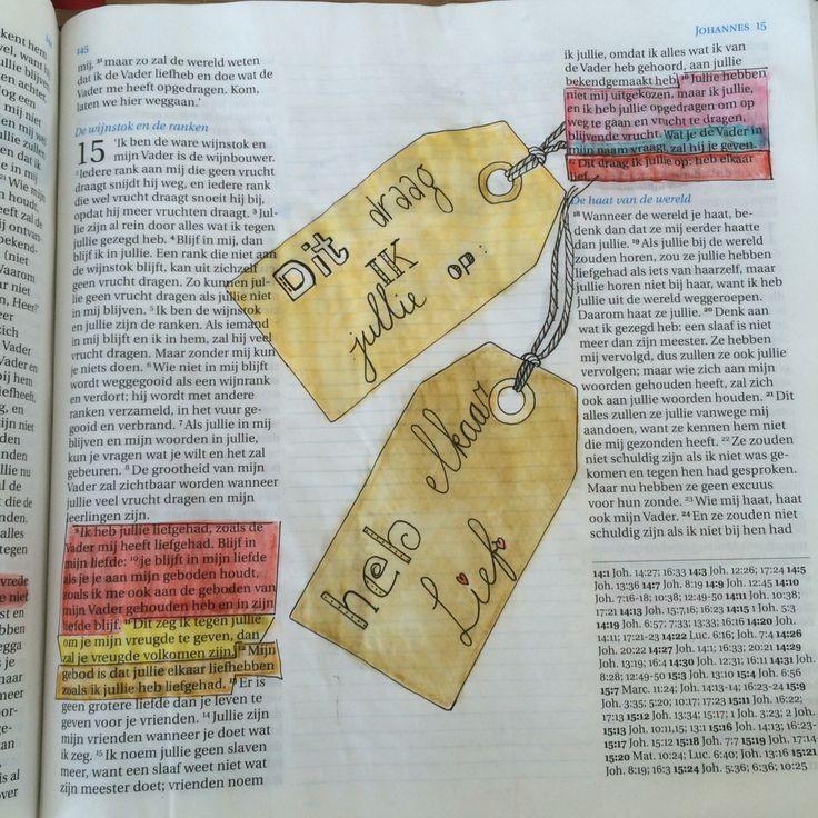 Bijbeljournaling Craftbijbel Bibleart