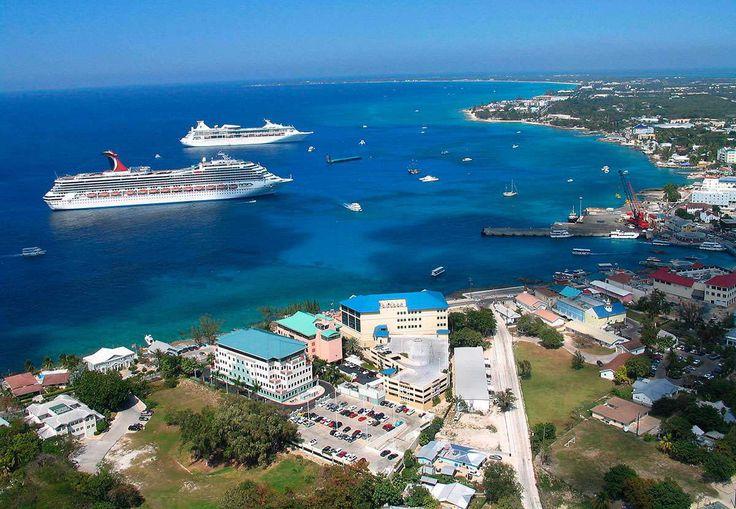 Isole Cayman. La Capitale Georgetown
