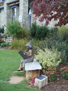 Library in Blowing Rock, NC -- so cute!