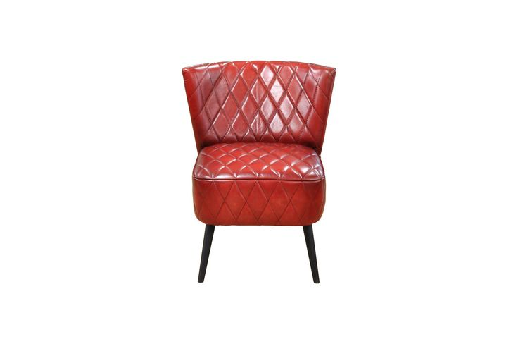 Mike Dining Chair Red-Set Of Two