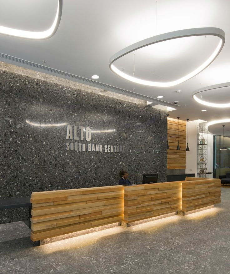 44 best reception areas images on pinterest for Cool office reception