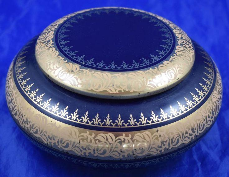 2 X Antike Keramik Zucker Kaffee Dose Metall Deckel Um 1920 Vintage 17 Cm Antike Keramik Deckel Antike