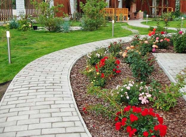24 best images about landscape borders on pinterest landscaping landscape borders and picture - Flower and lawn landscaping ideas ...