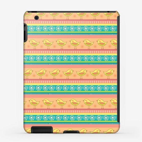Чехол iPad «Птички», Автор: Юлия Роденкова, Цена: 1200 р.