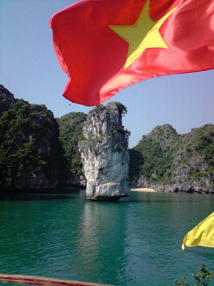 Bahía de Halong, provincia de Quang Ninh en el norte de Vietnam.