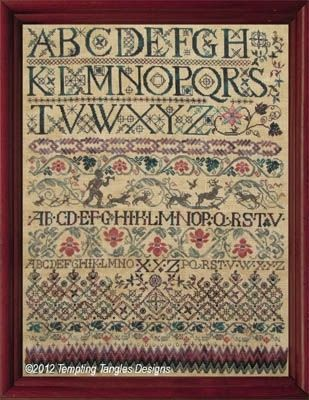 Giovanni's Alphabet - Beautiful sampler.
