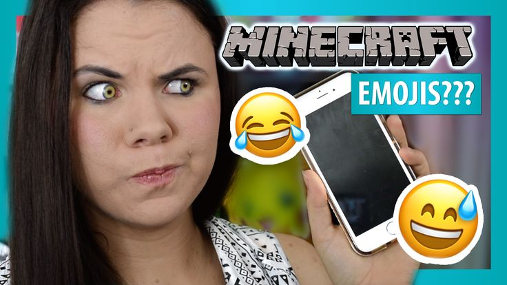 I combine my love for iOS emojis with Minecraft! Minecraft creative mode!