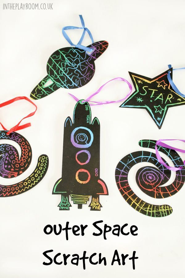 141 best outer space unit study preschool themes images for Outer space crafts