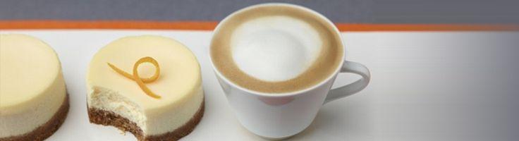 Nespresso Recipe – Gluten free Cheesecake & Cappuccino