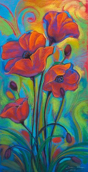 Pastel drawings on paper by Susan Tolonen Lopez-Tan