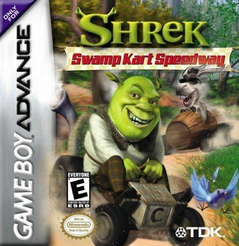 Shrek Swamp Kart Speedway - Game Boy Advance Game