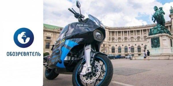 Студенты Технического университета Эйндховена отправились в кругосветное путешествие на электрическом мотоцикле собственной конструкции