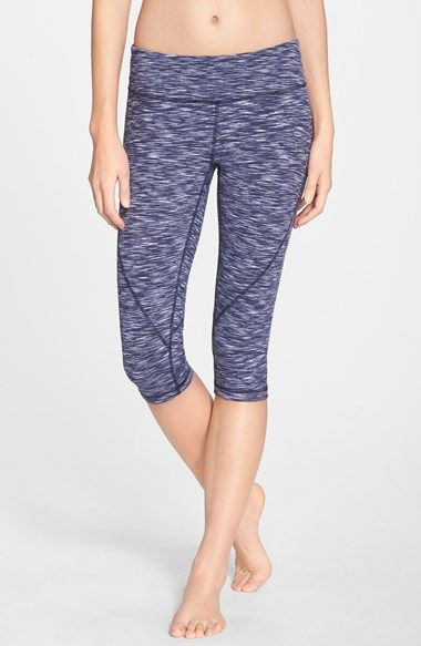 Free shipping and returns on Zella 'Live In 2' Capris at Nordstrom.com. Lean capri leggings, ideal for working out or wearing out, are cut from a stretchy, moisture-wicking knit and sewn with flatlock seaming for a comfortable, chafe-free fit.
