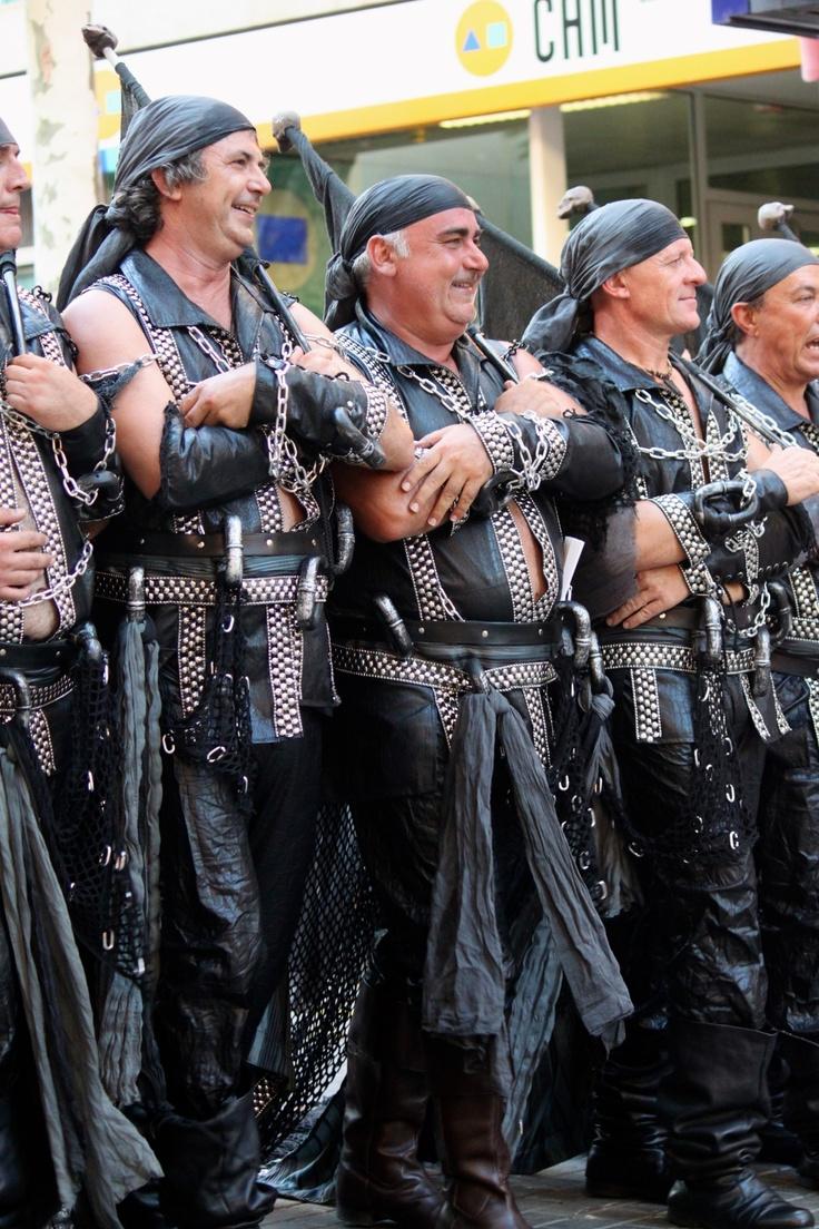 Moors & Christians festival in Denia, Spain.