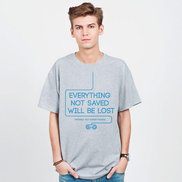 Everything not saved - t-shirt męski w artiglo na DaWanda.com