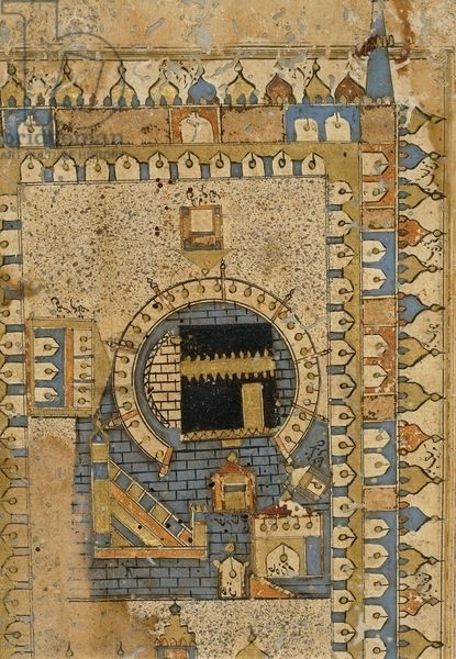 Kaaba - Kabe - 17th.c.