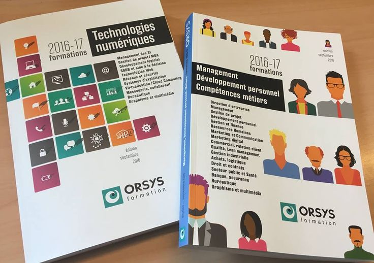 Nos catalogues 2016/2017 #catalogues #formations #20162017