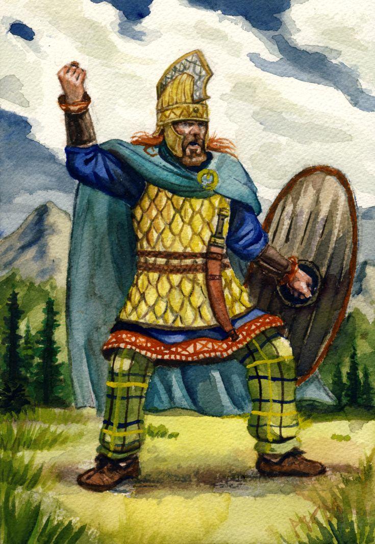 Dacian nobleman by residentsmooth.deviantart.com on @DeviantArt