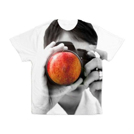Apple in the camera Men's All Over Print T-Shirt