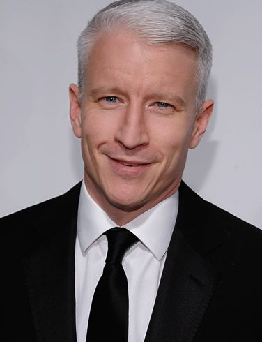 Anderson Cooper (photo by Dimitrios Kambouris). He's a good journalist, dapper, and giggles like a school girl...what's not to like?