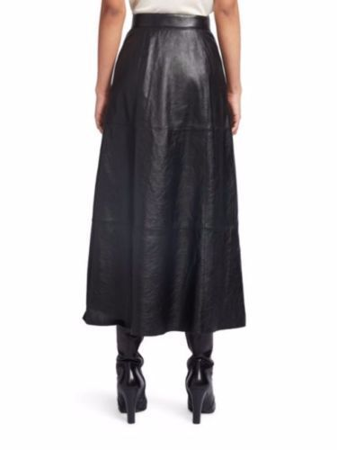 Hot-Women-039-s-Skirt-Genuine-Soft-Lambskin-Leather-Slim-fit-Skirt-WS-127