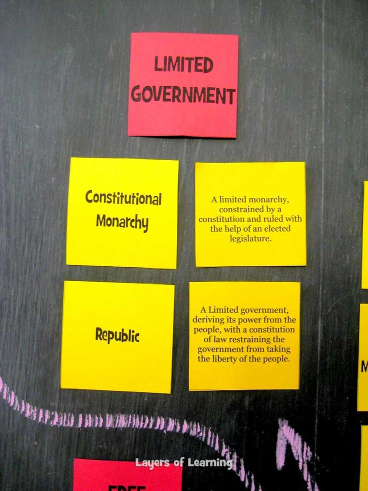 3 Main Types of Govn't (Anarchy, Limited, Totalitarian - Variations within) 2 Main types of Economies (Free and Controlled). Cool matching games to teach students about systems within each.
