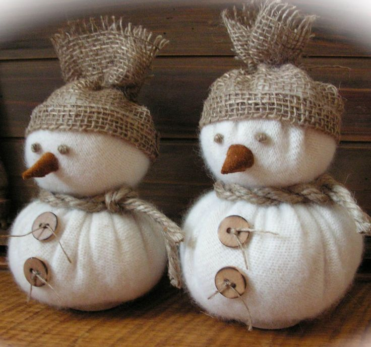 DIY - -to-Make Christmas Snowman Crafts - Don't wait for a snowy day to have some wintertime fun -- you and the kids can build a snowman anytime with these festive craft ideas. Description from pinterest.com. I searched for this on bing.com/images