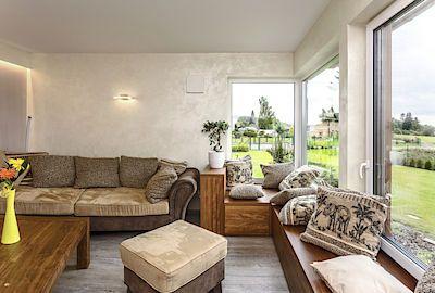 Majitelé si přáli, aby vnitřní uspořádání místností i celková filozofie domu umožňovala a napomáhala relaxaci a odpočinku, což se jim podle jejich slov beze zbytku splnilo.