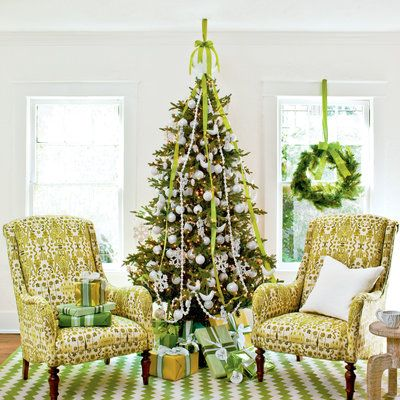 Fashionable Fresh Greens - Christmas Tree Decorating Ideas - Southern Living