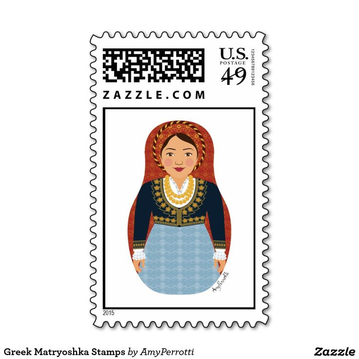 Greek Matryoshka Stamps
