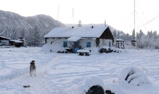 Oymyakom,Russia- With an extreme subarctic climate, Oymyakon is known as one of the candidates for the Northern Pole of Cold, the other being the Verkhoyansk. The ground there is permanently frozen. In 1924, Russian scientist Sergey Obrychev registered the lowest temperature −71.2 °C (−96.2 °F) recorded at Oymyakon's weather station. This is the lowest recorded temperature for any permanently inhabited location on Earth.