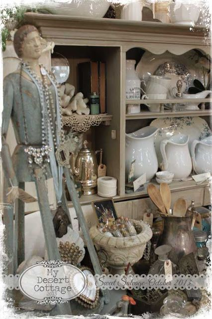 **My Desert Cottage**: Paris Marketplace at Sweet Salvage