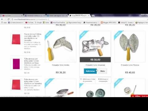 Como fazer suas compras frisadores Kriativa