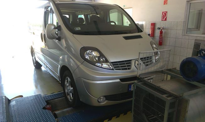 Renault Trafic 2.0DCI 115LE Chiptuning Optimalizálás