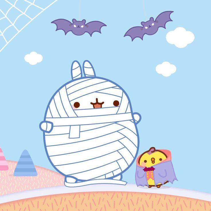 Halloween molang!!!!
