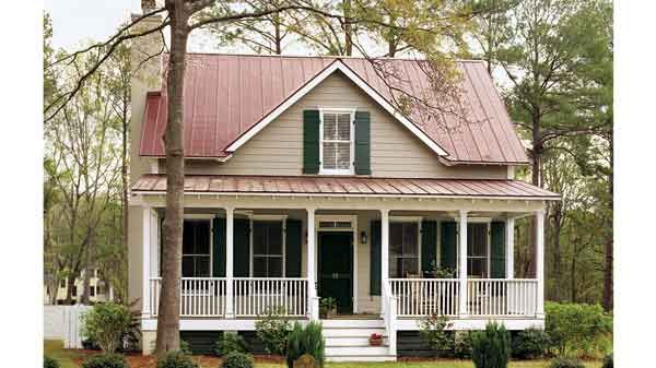 Coosaw River Cottage - Allison Ramsey Architects, Inc.   Southern Living House Plans