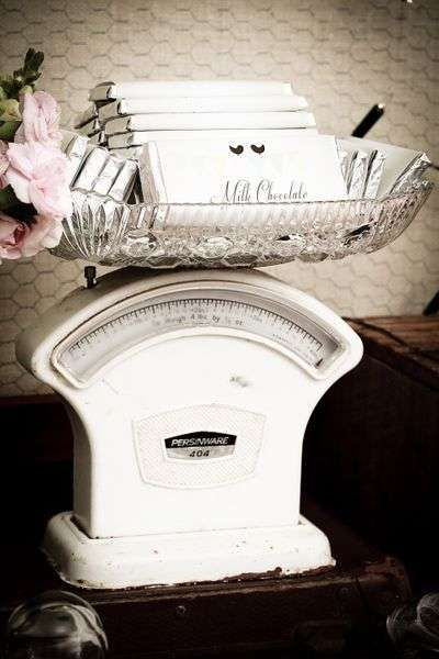 Gorgeous piece for vintage candy bar!