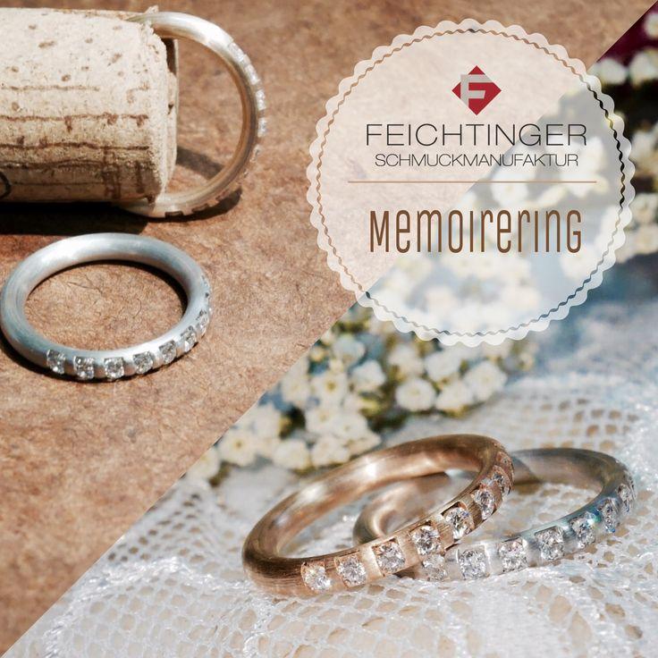 """""""Weisst Du noch…?""""  Memoireringe für Damen: Rosegold, 0,45 ct. Brillant ❤http://www.feichtinger.biz/Eheringe/Ehering-oxid-30.html?redirected=1 Weißgold, 0,45 ct. Brillant ❤http://www.feichtinger.biz/Eheringe/Ehering-oxid-71.html?redirected=1  #schmuck #feichtinger #feichtingerschmuck #schmuckhandelfeichtinger #ehering #eheringe #hochzeit #hochzeitsschmuck #verlobungsringe #trauringe #madeinaustria #liebe #Memoireringe #Memoirering #jewellery #wedding #ring #love #gold #weddingring…"""