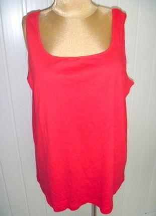 Kup mój przedmiot na #vintedpl http://www.vinted.pl/damska-odziez/koszulki-z-krotkim-rekawem-t-shirty/13264153-czerwona-bluzka-basic-na-szerokich-ramiaczkach