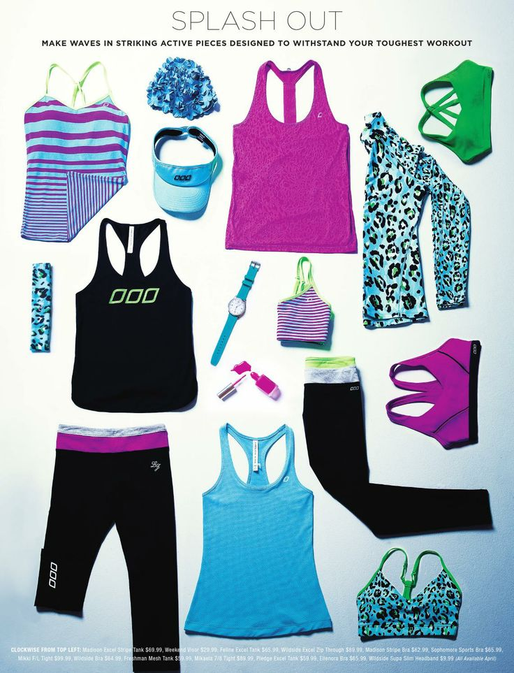 Loving the stripes and animal print. Added to wish list! - Active Living Magazine March/April 2014 by Lorna Jane