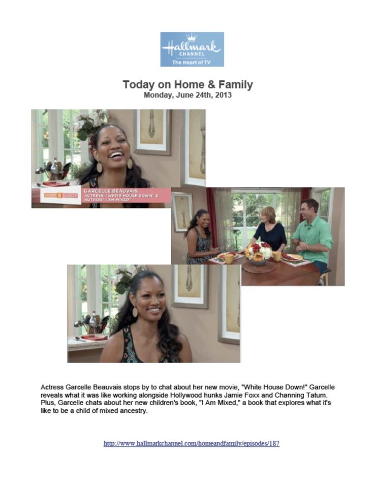 Garcelle and I Am Mixed on Hallmark Channel #IAmMixed #GarcelleBeauvais #mixed #mixedkids #mixedbabies